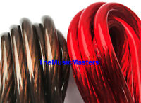 8 Gauge 10' ft each Red Black Auto PRIMARY WIRE 12V Auto Wiring Car Power Cable