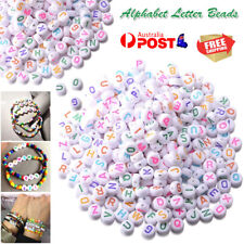 350pcs Alphabet Letter Beads Great For Craft and School Projects Handmade 4*7mm