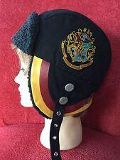 Harry Potter Trapper Fleece Lined Hat Hogwarts Pilot Fantasy Magic Cap One Size