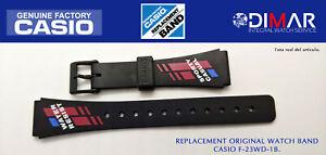 Replacement Original Watch Band Casio F-23WD-1B