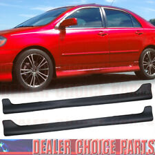 For 2003 2004 2005 2006 2007 2008 TOYOTA COROLLA S Style Side Skirt Body Kit