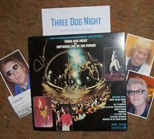THREE DOG NIGHT Autographed Album & Photos- REAL Collectible