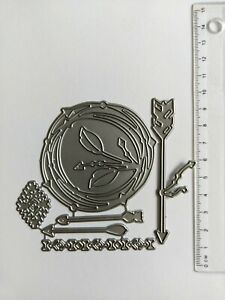 Set of Metal Cutting Dies For Scrapbooking Decorative Card Making embellishment