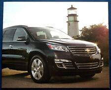 Prospekt brochure 2013 Chevrolet Traverse  (USA)