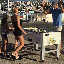 Babyfoot solaire avec monnayeur USB recharge, marque française, energie verte