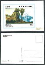 2000 ITALIA CARTOLINA POSTE AVVENTO LA NATURA - D