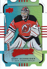 15/16 UPPER DECK MVP COLORS & CONTOURS TEAL LEVEL 1 #11 CORY SCHNEIDER *4988