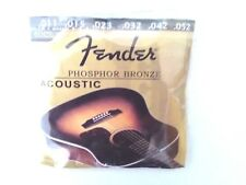 Fender Phosphor Bronze Acoustic Guitar Strings 60CL .011-.052