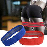 Resistance Bands Fabric Leg Squat Yoga Gym Non Slip Training Exercise