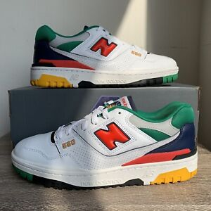 New Balance 550 White Multicolor - Size 7.5-12 - Brand New, 100% Authentic