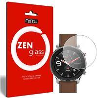 2x ZenGlass Protector de Vidrio Flexible Amazfit GTR 47mm Smartwatch I Pantalla