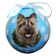 Cairn Terrier ~ Christmas Ball Ornament