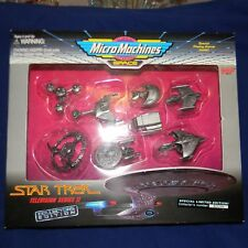 1995 Galoob MICRO MACHINES Ltd. Ed. Star Trek: Television Series II - MIB!