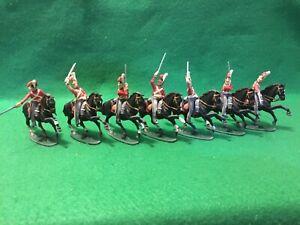 Napoleonic War Era British Cavalry  -1/32 Scale- Plastic Figures