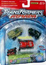 Transformers Armada Minicons Dune Runner, Iceberg, & Ransack Factory sealed 2002