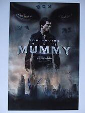 THE MUMMY CAST SIGNED 11x17 PHOTO SOFIA BOUTELLA ANNABELLE WALLIS DC/COA 1