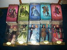 Lot of 5 Doll Disney Fairytale Designer Collection Doll Sets LE 2nd