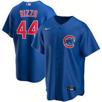 Brand New 2021 Chicago Cubs Anthony Rizzo #44 Nike Alternate Replica Team Jersey