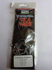 Shakespeare Sea Rig Long Range Wishbone size 2 hook with bait shield 60lb main
