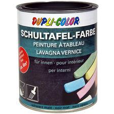 DUPLI COLOR 368110 Schultafellack Schultafelfarbe schwarz matt Lack 750 ml