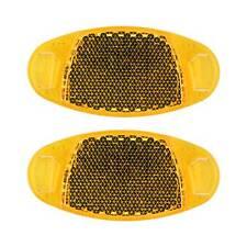Reflectores Reflex para Radios de Rueda Bicicleta Naranja