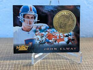 1996 Pinnacle Mint John Elway Coin Card #2