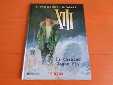 LIBRO CARTONATO CULT COMICS DARGAUD XIII IL DOSSIER JASON FLY VOLUME. N° 6