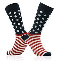 Patriotic American Flag Socks Unisex Fashion Casual Socks Fashion Wedding _RI