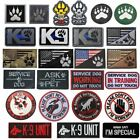 Tactical K9 UNIT Patch For Body Armor