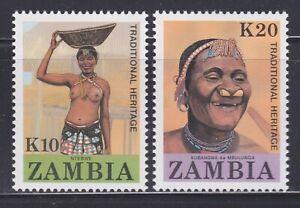 Zambia - Scott #s 425-26