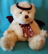"RBI 2000 ~ Angel Teddy Bear ~ 15"" Plush  Christmas Jointed W/ Halo & Wings"