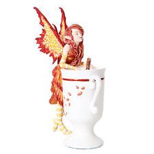 Cider Fairy Figurine Faery Figure Amy Brown teacup faerie cup mug statue