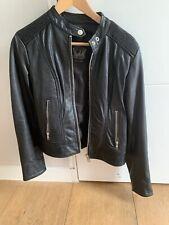 Diesel women leather jacket