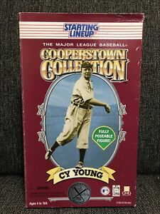 """Cy Young Starting Lineup 12"""" Toy Figure Cooperstown Collection 1996 NEW in Box"""