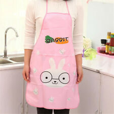 1x Cute Animal Images Restaurant Household Kitchen Waterproof Cooking Apron Small Yellow Duck
