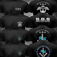 New SBS Special Boat Service United Kingdom Special Forces Navy Army sas T-shirt