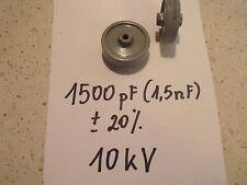 Pomello Condensatore 1500pf/10 kV... 1pcs.