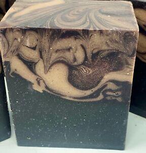Hand Made Artisan Almond Macaroon Mocha soap 6.5 oz