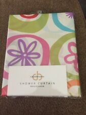 Creative Bath Shower Curtain Multi colored (all that Jazz)100% polyester 72 X 72