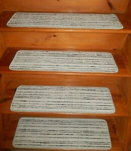"13 = Step  9'' x 30'' Landing 25"" x 48"" Stair Treads 55% Wool / 45% Polyester"