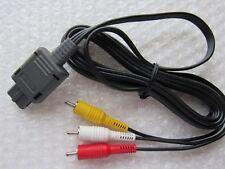 NEW Super Nintendo 64 N64 SNES GameCube AV Cable Cord OEM Authentic TV RCA NOS