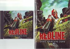 REDLINE GANG WARFARE 2066 - 1999 FPS SHOOTER PC GAME WITH MANUAL - FAST POST VGC