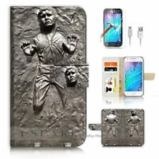 Han Solo Mobile Phone Wallet Cases for Samsung