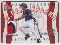 2003 Fleer Platinum Nameplates #NG Nomar Garciaparra Jersey Patch #158/258