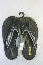 Sandals STAR Bay Sandals Black & Silver Rubber NEW SZ 12