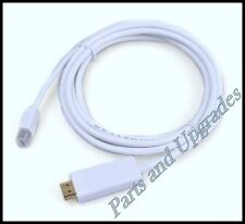 Mini DisplayPort DP Male to HDMI Male Adapter Cable For MacBook Pro Air 6FT 1.8M