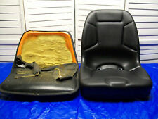 NEW HIGH BACK SEAT OLDER KUBOTA COMPACT TRACTORS with WELDED 3 HOLE BRACKETS #CH