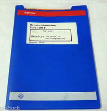 Reparatiebrochure VW Polo 6N 4CV inspuit- en ontstekingssysteem ab 1995