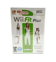 Wii Fit Plus (Wii, 2009) Factory Sealed -  No Board Included