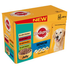 Pedigree Pouch Jelly Senior 12x100g